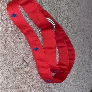 Polo Belt (Red + Blue)